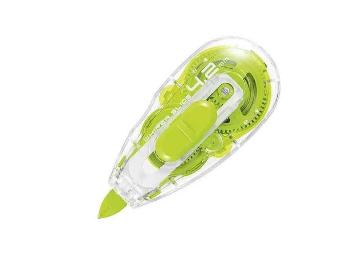 Plus Correction Tape MR2 Whiper Slide - Green