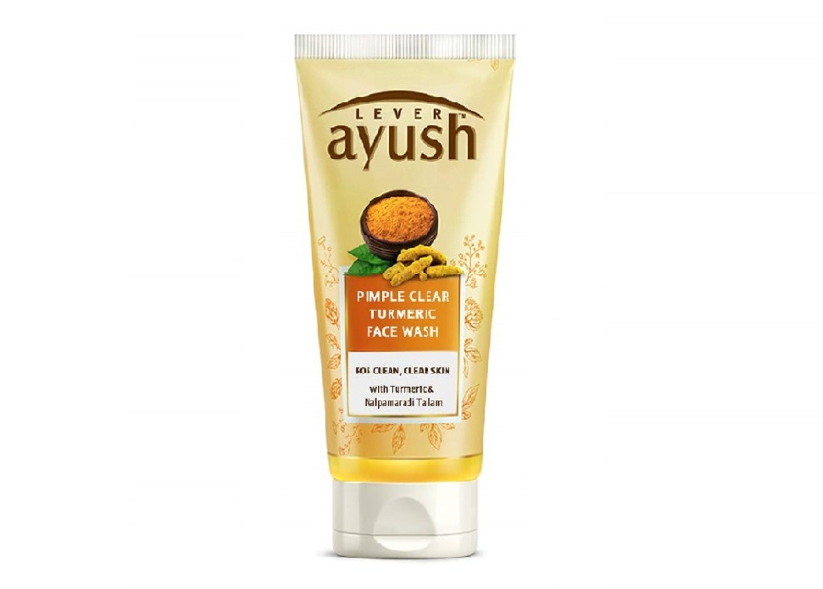 Ayush  Anti Pimple Turmeric Face Wash 50g