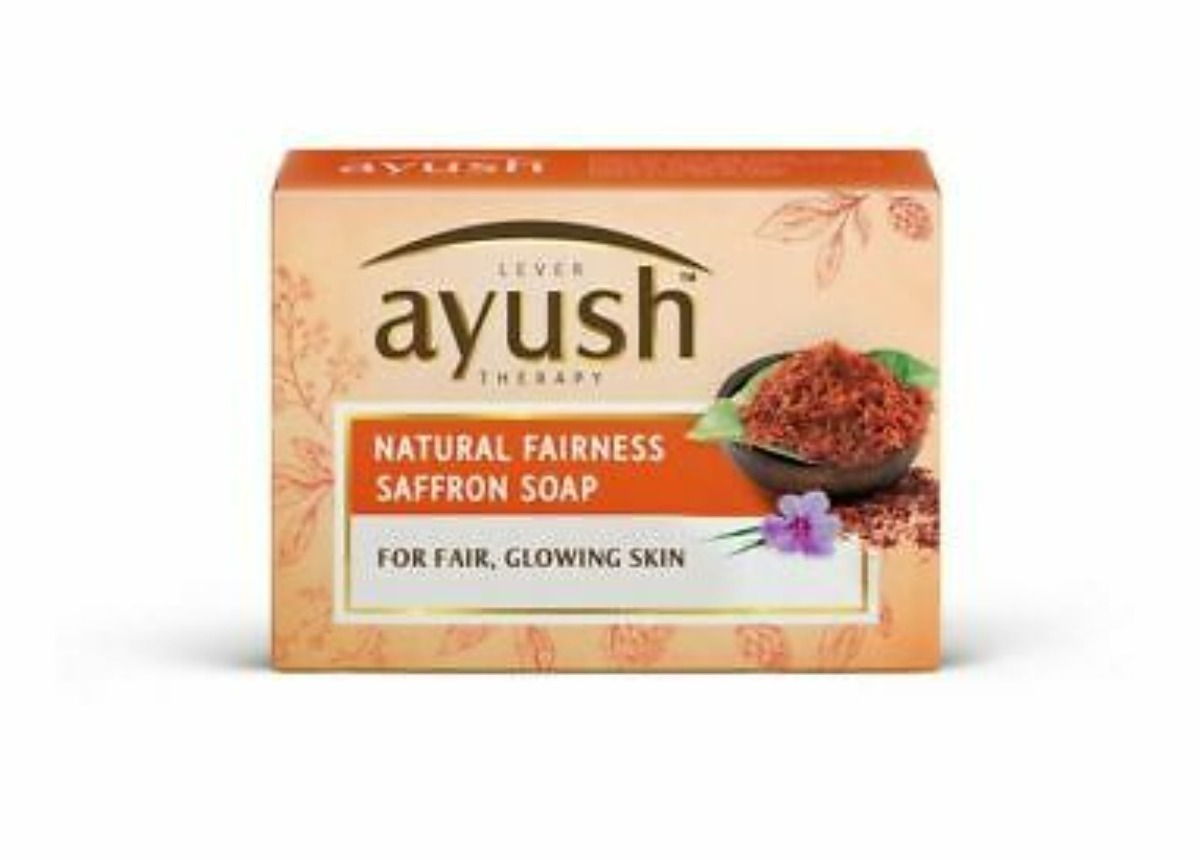 Ayush Natural Fairness Saffron Soap 100g