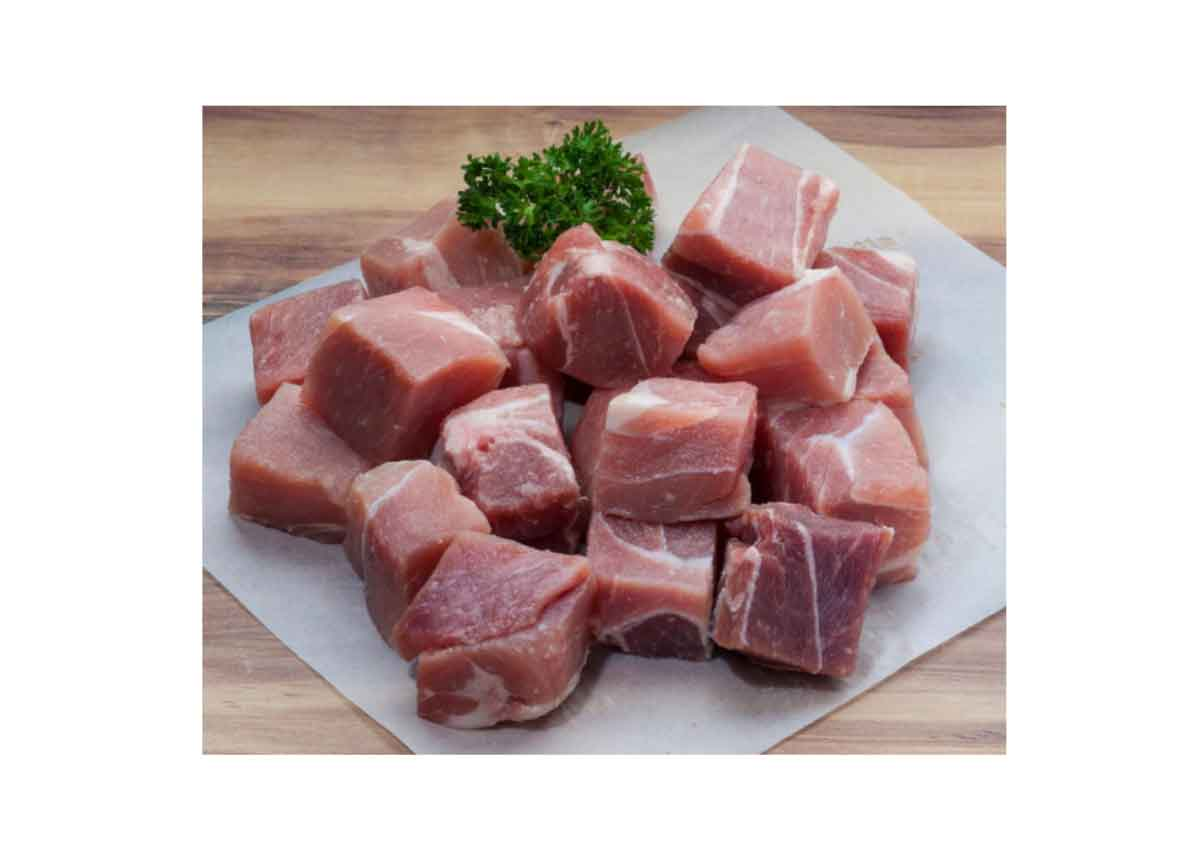 Curry Pork Cubes 500g