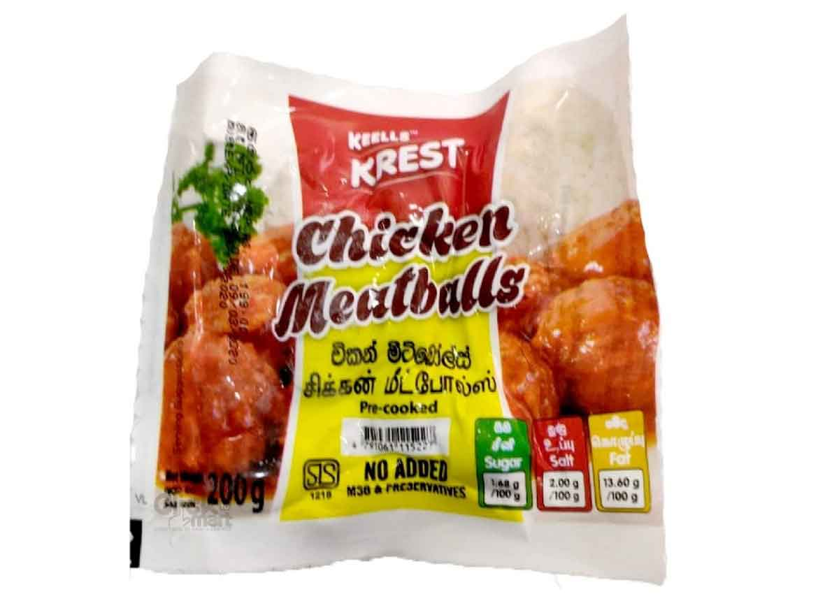 Krest Chicken Meatballs 200g
