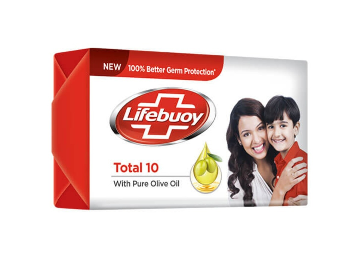 Lifebuoy Total 10 With Pure Olive Oil 100g