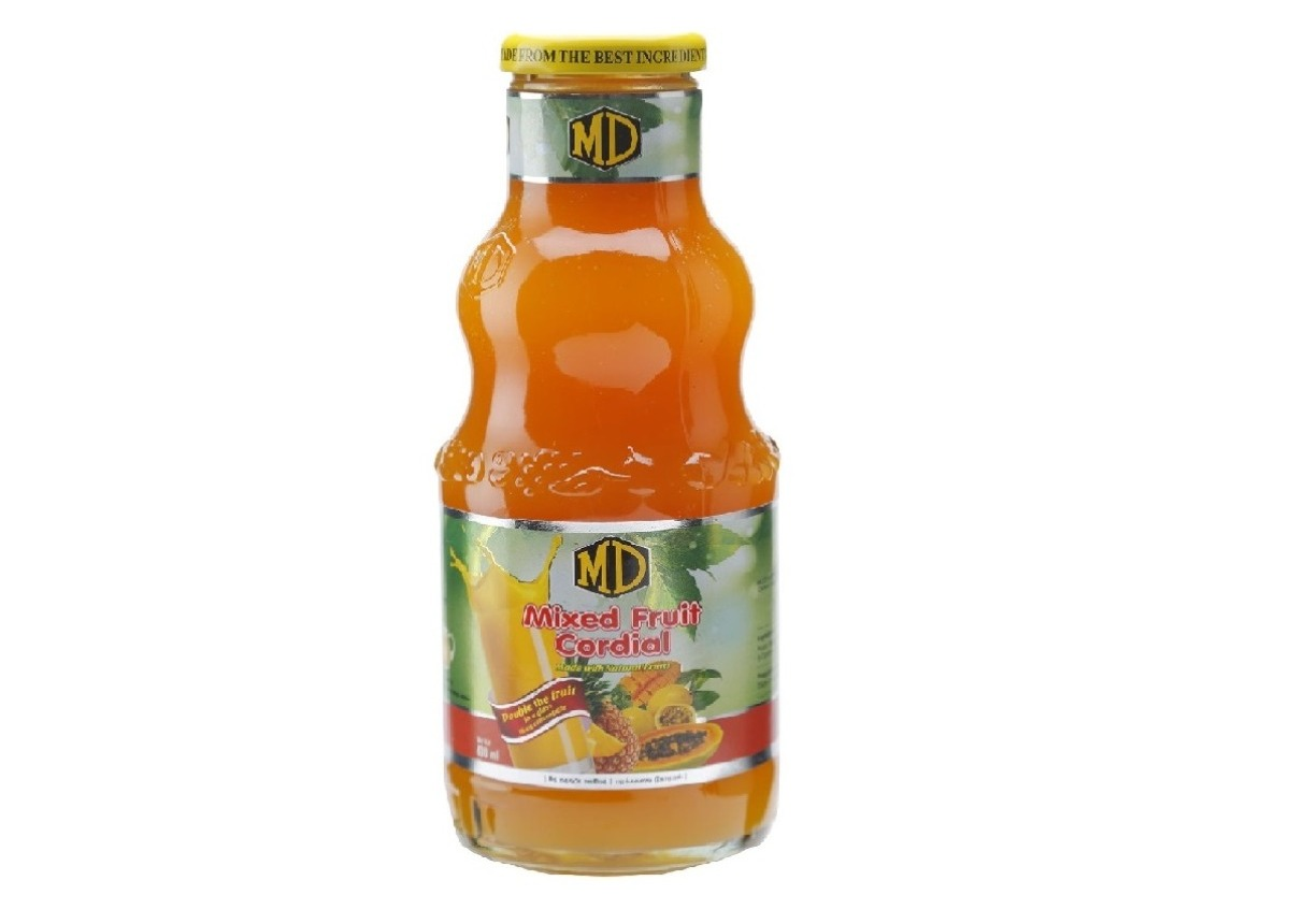 MD Mixed Fruit Cordial 400ml