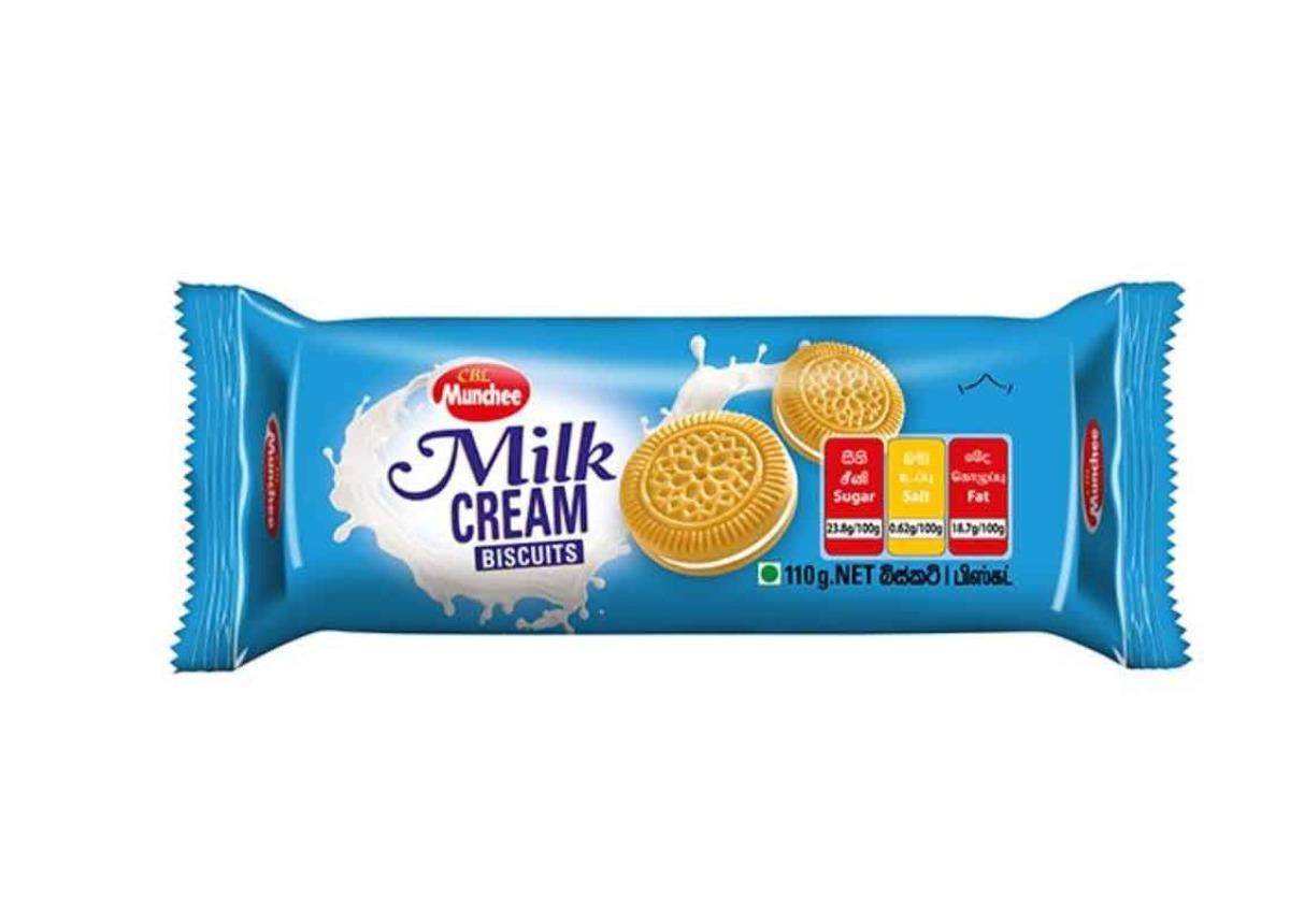 Munchee Milk Cream Biscuit 110g