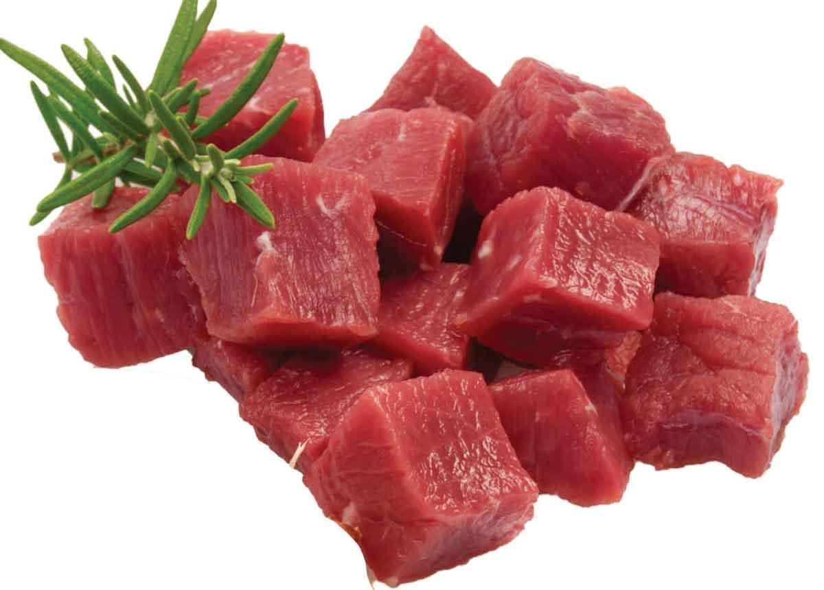 Mutton Cubes Boneless 2kg