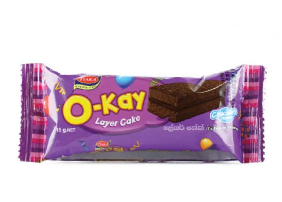 O Kay Chocolate Layer Cake 15g