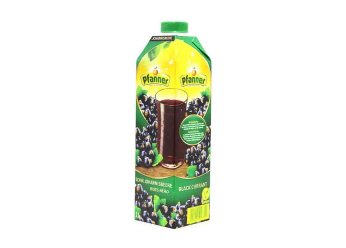 Pfanner Blackcurrant Juice 1l