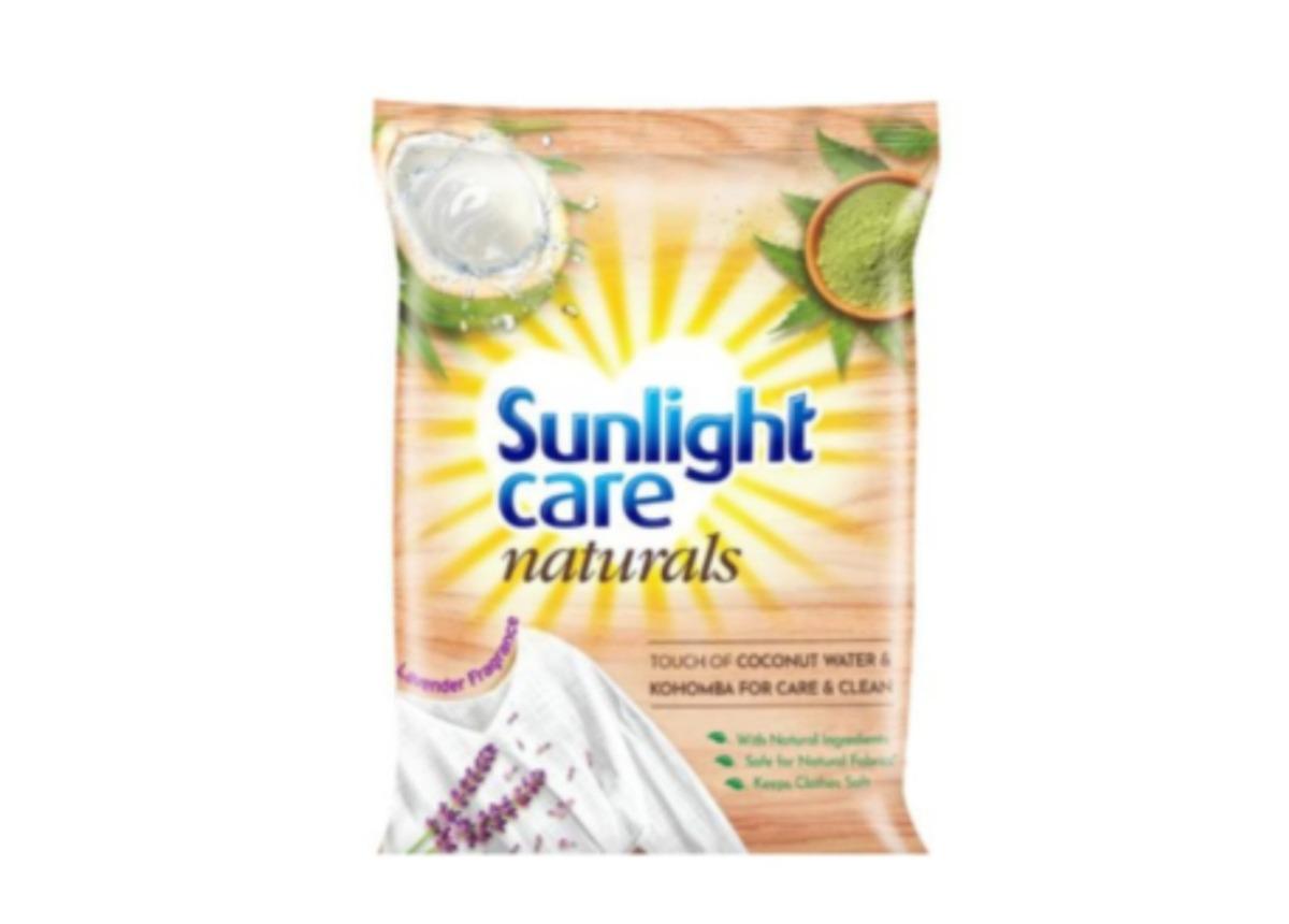 Sunlight care naturals detergent powder 1kg